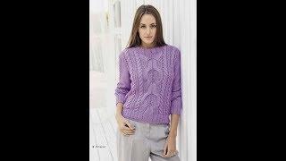 Вязание Женского Пуловера Спицами - модели - 2019 / Knit Women