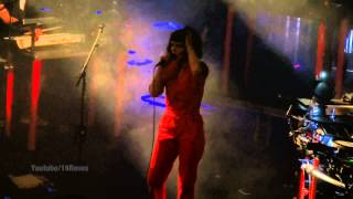 "The Dø/The Do -LIVE- ""Slippery Slope"" @Berlin Oct 31, 2014"