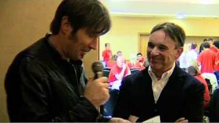 Chris Difford Interview at Never Mind The Business 2010