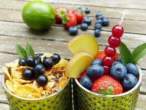 Fare il menù durante una settimana di nutrizione sana per perdita di peso