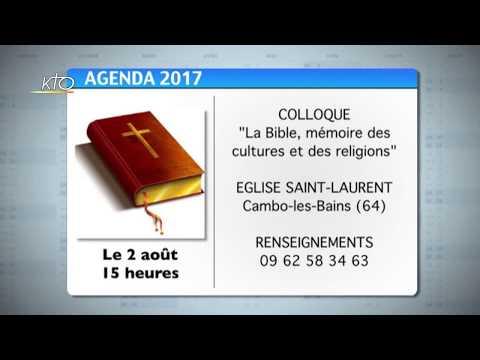 Agenda du 14 juillet 2017