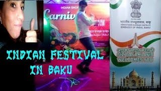 INDIAN FESTIVAL DAY IN BAKU | DAILY VLOG #2
