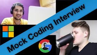 Google Coding Interview with an ex-Microsoft Software Engineer