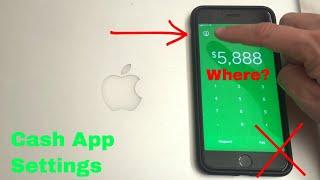 ✅  Where Is Settings Tab in Cash App? 🔴