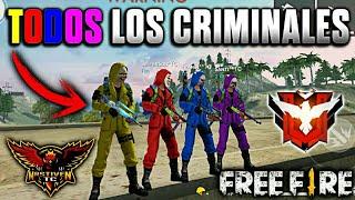 ÉPICA ESCUADRA DE SOLO CRIMINALES EN CLASIFICATORIA •FREE FIRE•