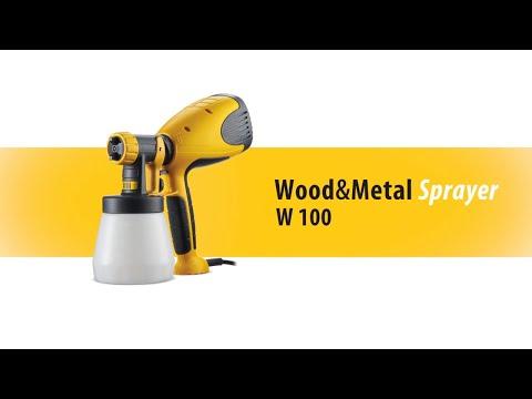 Pistola de pintar Wood&Metal Sprayer Wagner W100