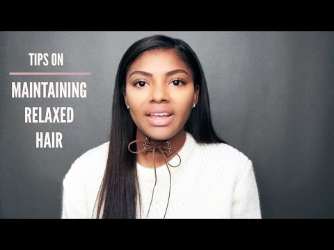 Video Maintaining Relaxed Hair