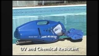 Ручной автономный пылесос Poo Blaster MAX CG для частных бассейнов. от компании Океангруп - видео