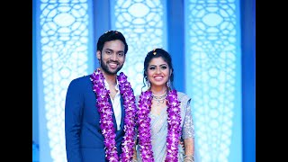 Kavya With Karthik Reception Video By BK Photography