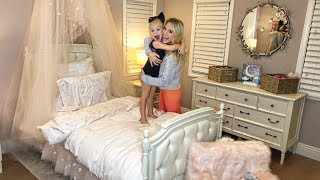 SURPRISING EVERLEIGH WITH THE CUTEST ROOM MAKEOVER!!! (SHE LOVED IT) - Video Youtube