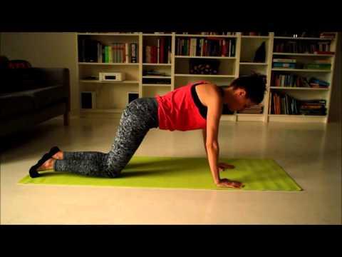 Górną część mięśnia piersiowego ćwiczenia w domu
