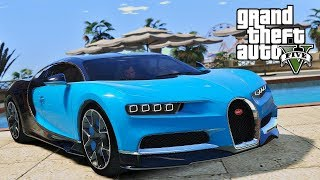 BUYING AND DRIVING A BUGATTI IN GTA V! NO MOD