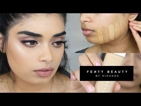 FENTY BEAUTY PRO FILT'R FOUNDATION & PRIMER REVIEW #240 + SHADE COMPARISONS! MEDIUM SKINTONES