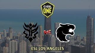 Thunder Predator vs Furia - ESL One Los Angeles