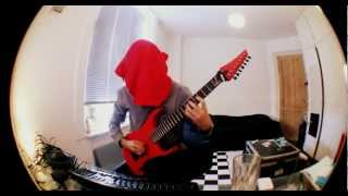 Spawn of Possession - Cabinet guitar cover by Lund (blindfolded)