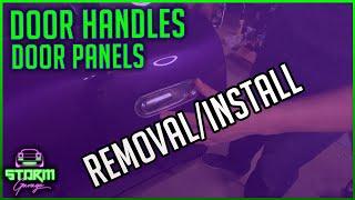 How To Remove/Install MX-5 Miata Door Handles And Door Panels