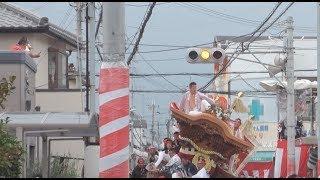 平成30年9月15日春木地区午後曳行 岸和田だんじり祭