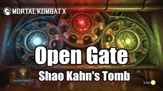 Mortal Kombat X Open Gate - Shao Kahn's Tomb