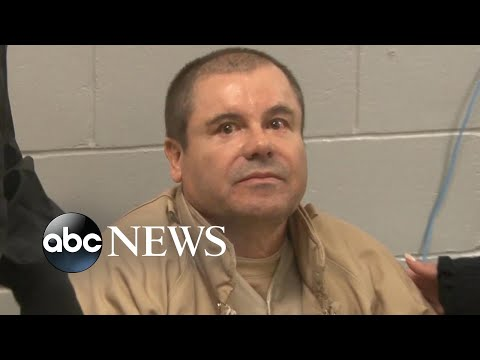 El Chapo found guilty on all 10 charges