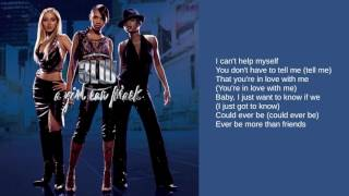 3LW: Bonus Track: More Than Friends (A Girl Can Mack Version) (Lyrics)