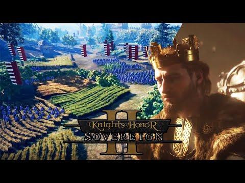 Knights of Honor II | POR FIN Medieval Total War Tiene COMPETENCIA !!!