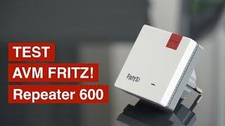Test: AVM WLAN FRITZ!Repeater 600