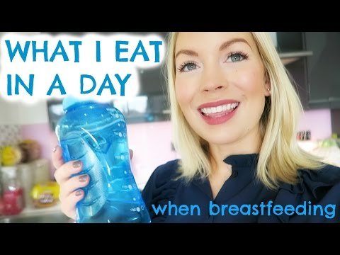WHAT I EAT IN A DAY WHILE BREASTFEEDING