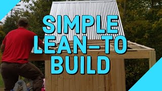 Building a Lean To