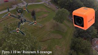 Eachine Tyro 119 w/ Runcam 5 orange FPV drone