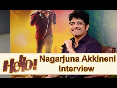 Nagarjuna About Hello Movie Pressmeet