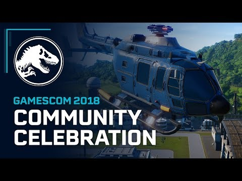 Jurassic World Evolution: Видео с Gamescom 2018