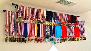(DIY) Medals Display,  [How To] Display Medals Inexpensive