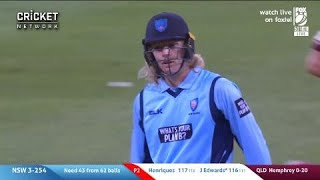 Edwards becomes youngest one-day century-maker