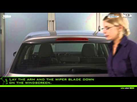 Valeo Silencio X.trm® - fitment of wiper blade - instruction type n° 13