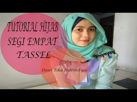 Video Tutorial Hijab Segi Empat Tassel #2 - Dessi Tika Indriningtyas
