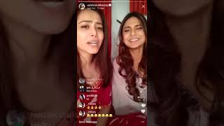 Jennifer Winget And Vaishnavi Dhanraj Singing 'Bepannaah' Title Track