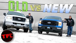 "Old vs New: You Won't Believe How Much The ""Cheap"" Ford F-150 Has Changed! by The Fast Lane Truck"