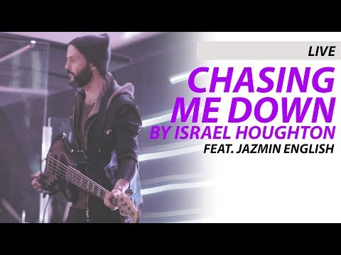 LIVE BASS COVER | Chasing me down by Israel Houghton feat. Jazmin English (4K)