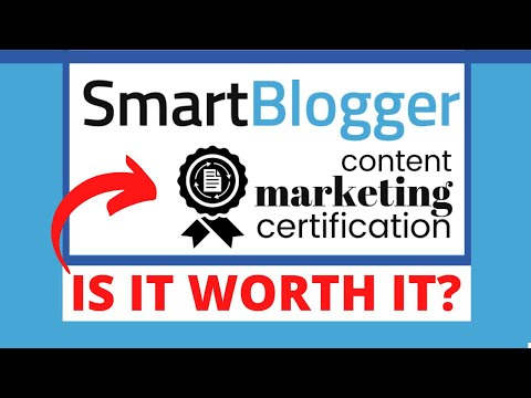 Is Smart Blogger's CMC Worth It? (Content Marketing Certification ...