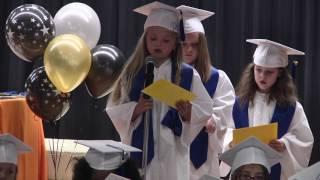 Bovina Elementary Kindergarten Graduation Awards Ceremony