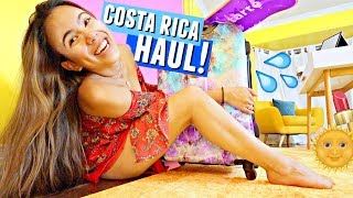 I CAN FINALLY SHOW YOU... Everything I got in Costa Rica HAUL!