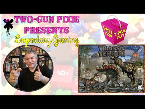 Tabletop Takeout 022 - Triassic Terror by Eagle-Gryphon Games