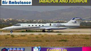 Take Instant and Incredible Global Air Ambulance Services in Jabalpur