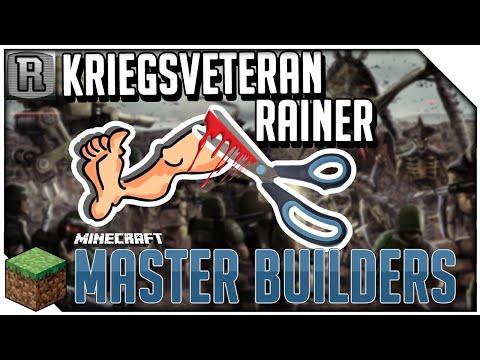 Bein mit BASTELSCHERE AMPUTIERT! | Minecraft Master Builders