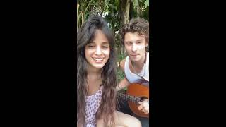 Shawn Mendes with Camila Cabello Instagram Live | March 20, 2020