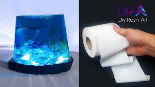 Easy Making Epoxy Resin Lamp Diorama   Diy Resin Art