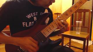 Chelsea Grin - Letters solo cover by Nott Sanpeth