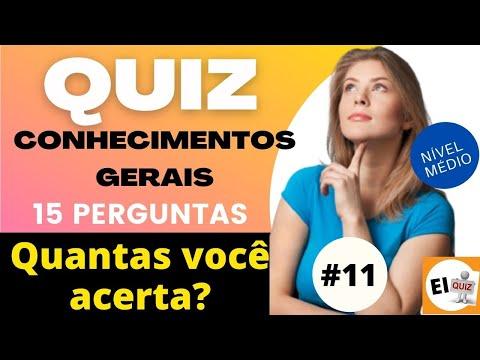 DESAFIO QUIZ DE CONHECIMENTOS GERAIS   NVEL MDIO #11
