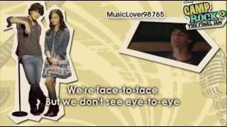 Wouldn't Change a Thing (Sing with Joe Jonas) [Karaoke].flv
