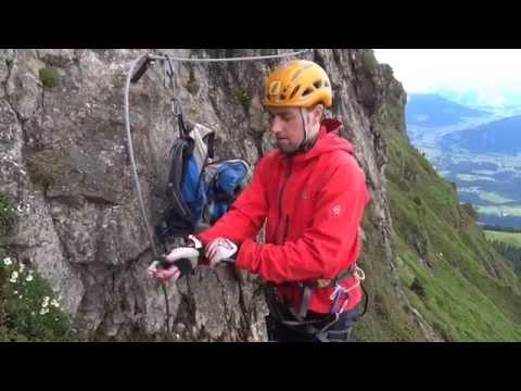 Die richtige Klettersteigausrüstung - via-ferrata.de